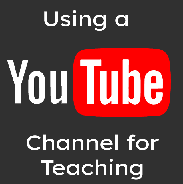 A YouTube Channel for your Instruction